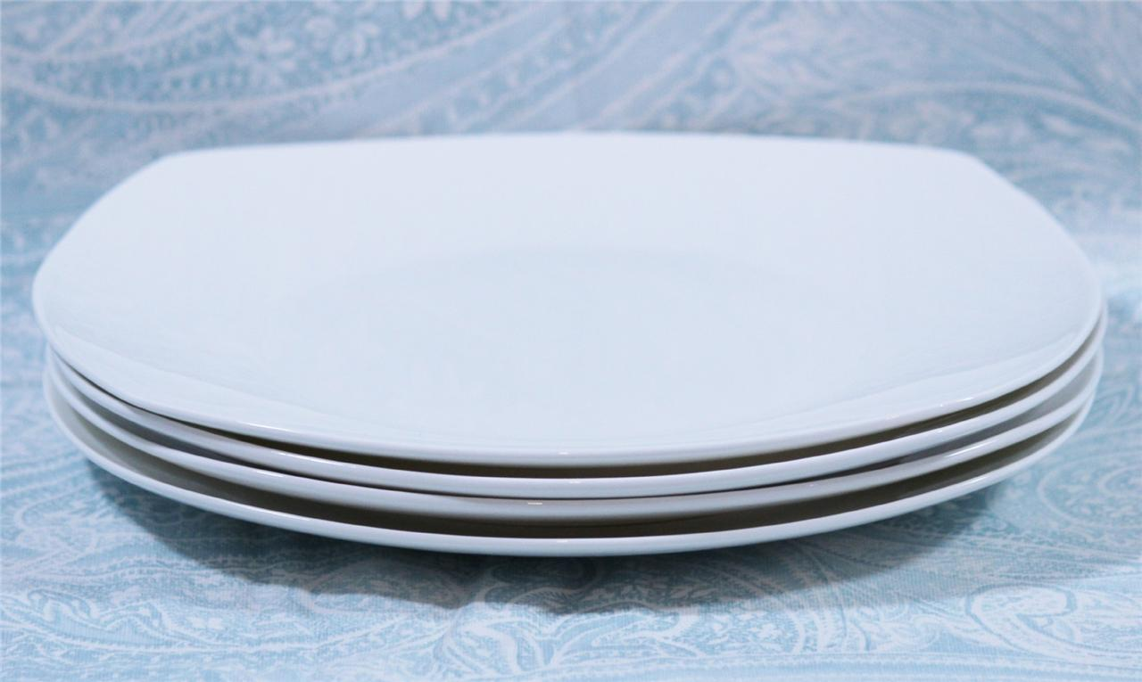 Roscher Immaculate Set of Four Bone China Dinner Plates Solid .  sc 1 st  Plate Dish. & Roscher Plates. Roscher Blue Crackle 8\