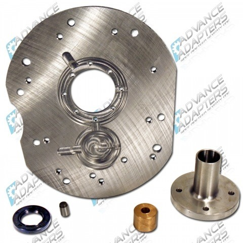 Engine Adapter Plates  ICT Billet SBC Vehicle to LS Engine