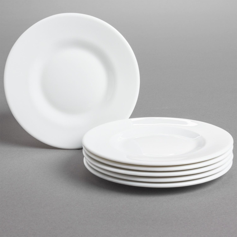 Bormioli Rocco Venere Porcelain Bread Plates - Set of 6 in . & Bormioli Rocco Plates. Bormioli Rocco Murano Blue Marbled Glass ...