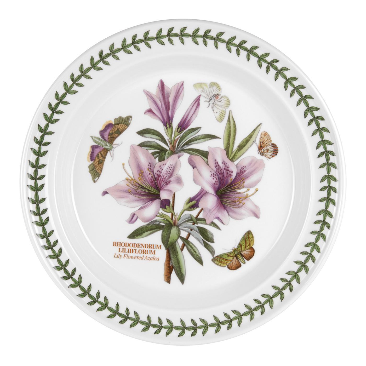 Botanic Garden Dinner Plates Portmeirion Botanic Garden