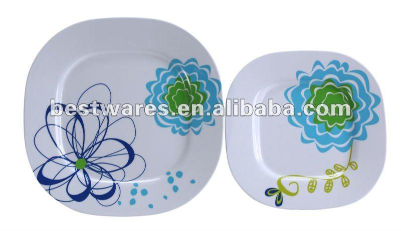 Alibaba Fabricator Directory - Suppliers Manufacturers .  sc 1 st  Plate Dish. & Unbreakable Dinner Plates. Melange 6-Piece Melamine Dinner Plate Set ...