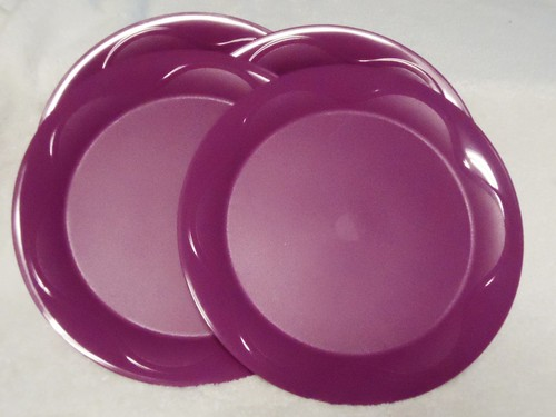 Tupperware 4 Rare Purple Dinner Plates Set New Altruistic House . & Tupperware Dinner Plates. Tupperware Microwave Reheatable Luncheon ...