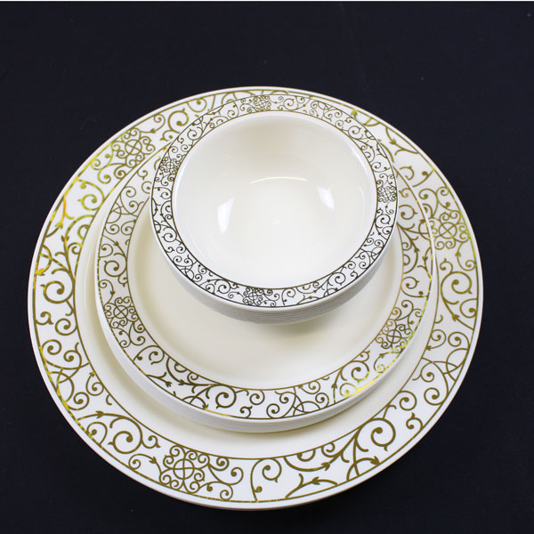 Gold Plastic Plates Bulk. Elite Selection Pack of 50 Dinner ... Gold Plastic Plates Bulk Elite Selection Pack Of 50 Dinner : gold plastic plates bulk - pezcame.com