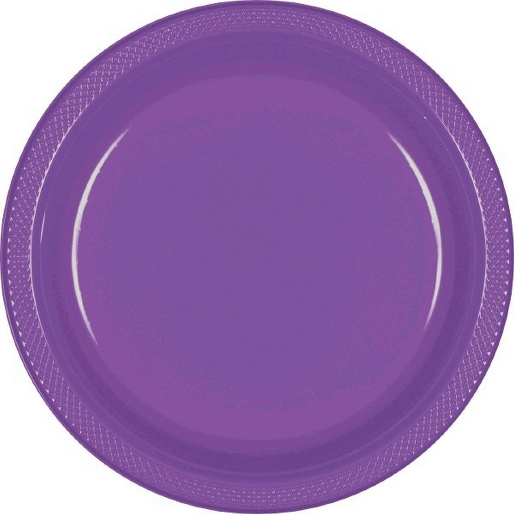 Amscan Plastic Plates. Amscan Big Party Pack 50 Count Plastic Lunch ...