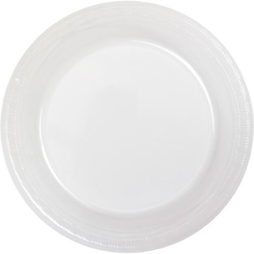 Bulk Clear Plastic Plates 54 CRYSTAL CLEAR PLASTIC PLATES 9 Inch