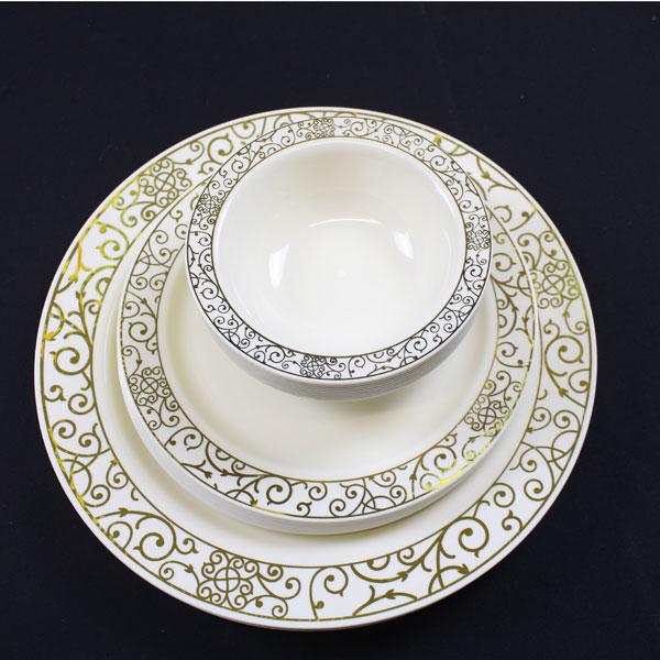 Mashers Importance Disposable Plastic Party Supplies \u0026 Tableware & Elegant Plastic Plates Wholesale. Select Settings [60 COUNT] White ...