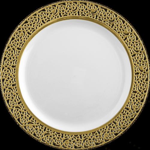 Wholesale Elegant Bloodless Plastic 10.25\  Dinner Plate with .  sc 1 st  Plate Dish. & Elegant Plastic Plates Wholesale. SILVER SPOONS VINTAGE COLLECTION ...