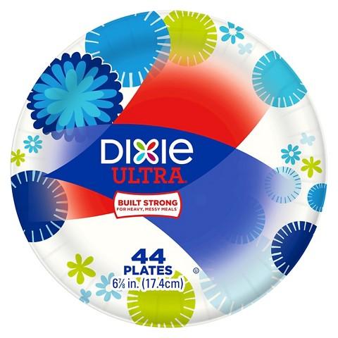 Dixie Plastic Plates  Dixie Everyday Paper Plates,10 1/16