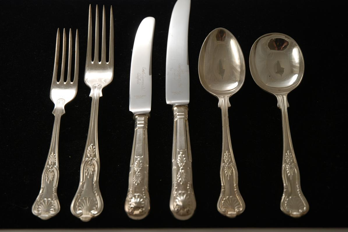 Silver Plated Cutlery Tuzech Pure Silver Plated Snack