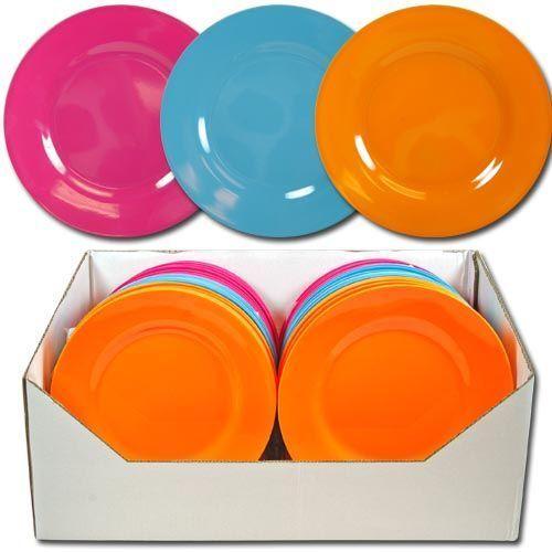 cheap melamine plates habitation basics melamine dinnerware - Melamine Dinner Plates