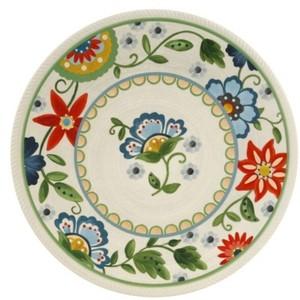 Threshold Melamine Dinner Dish Roped Vasaio Floral - Polyvore  sc 1 st  Plate Dish. & Threshold Melamine Dinner Plates. Dinner Plate 10.5in Melamine ...