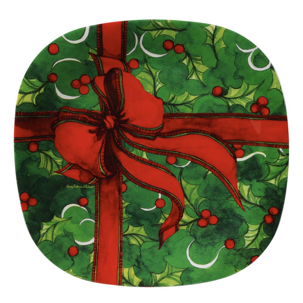 Melamine Holiday Plates. Lenox Holiday Melamine Dinner ...