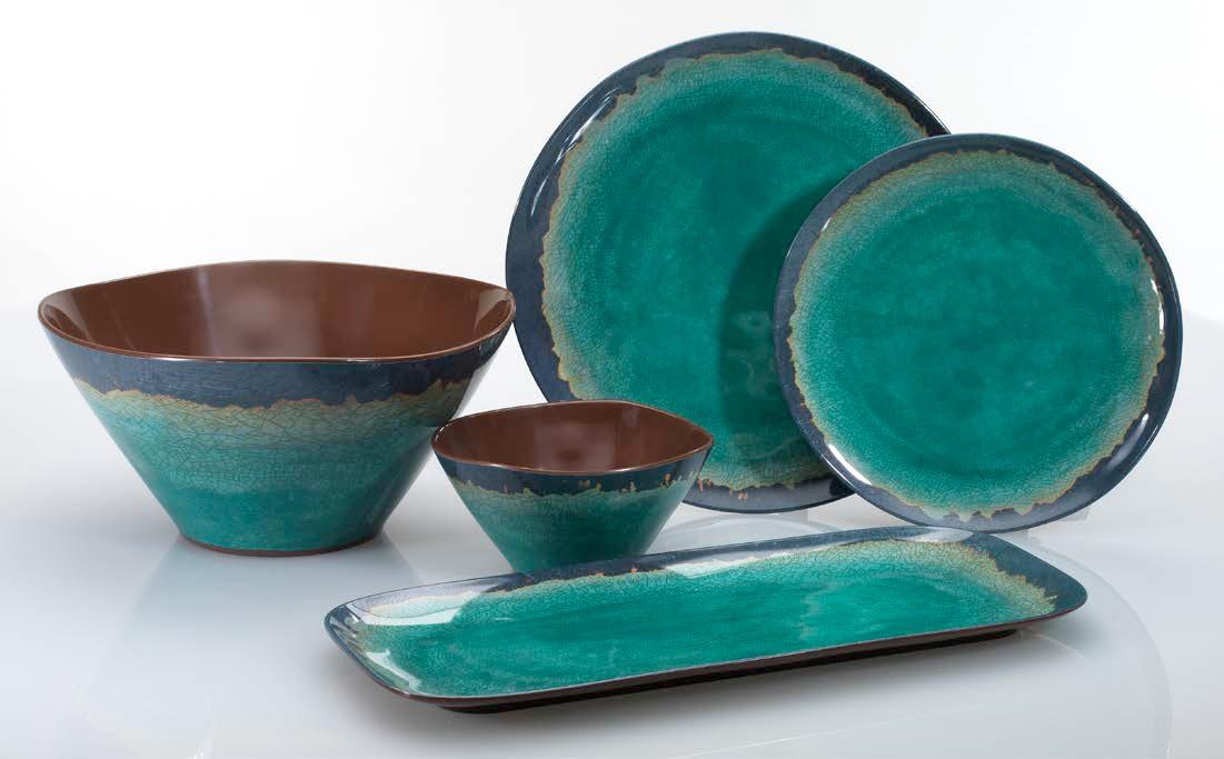 Beautiful Outdoor Plates Melamine. Melamine Dinnerware Set - 12 Pcs Dinner  XE38