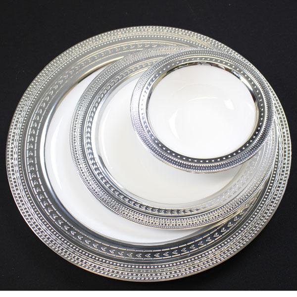 Buy Brawny Elegant Formal Plastic Plates u0026 Bowls Online & Disposable Fancy Plates.