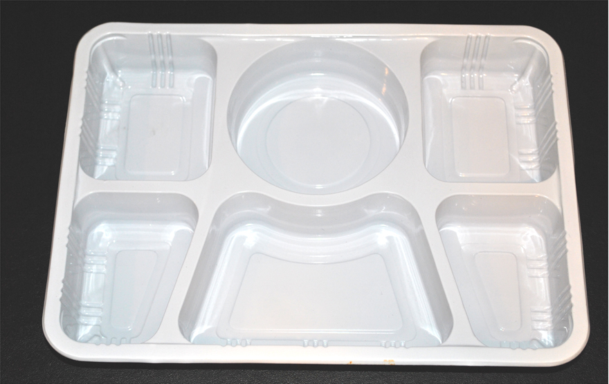 Workable - Plates - 6 Compartment Plastic Plate . & Disposable Compartment Plates. Chinet Classic 5-Compartment Fiber ...